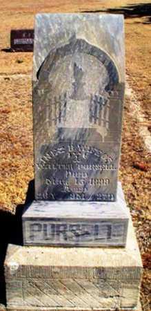 PURSELL, INEZ B - Rawlins County, Kansas   INEZ B PURSELL - Kansas Gravestone Photos