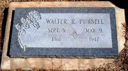 PURSELL, WALTER R - Rawlins County, Kansas | WALTER R PURSELL - Kansas Gravestone Photos