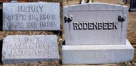 RODENBEEK, HENRY - Rawlins County, Kansas   HENRY RODENBEEK - Kansas Gravestone Photos