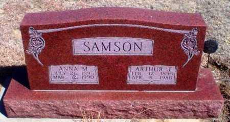 SAMSON, ARTHUR JOSEPH - Rawlins County, Kansas   ARTHUR JOSEPH SAMSON - Kansas Gravestone Photos