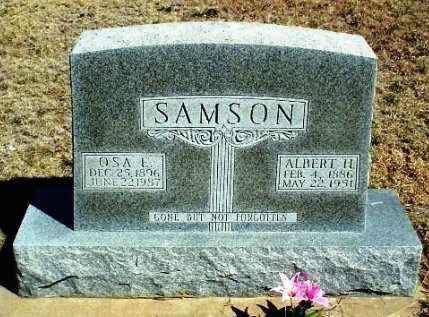 SAMSON, OSA L - Rawlins County, Kansas | OSA L SAMSON - Kansas Gravestone Photos