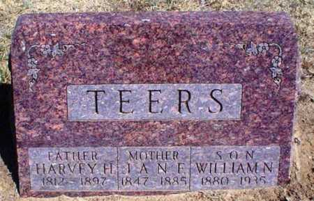 TEERS, HARVEY H - Rawlins County, Kansas | HARVEY H TEERS - Kansas Gravestone Photos