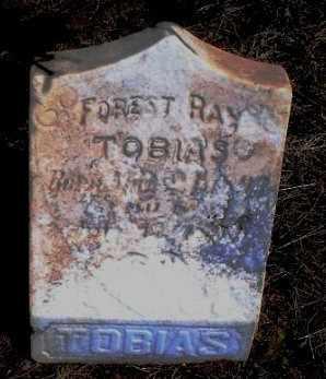 TOBIAS, FOREST RAY - Rawlins County, Kansas | FOREST RAY TOBIAS - Kansas Gravestone Photos