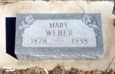 WEBER, MARY - Rawlins County, Kansas | MARY WEBER - Kansas Gravestone Photos