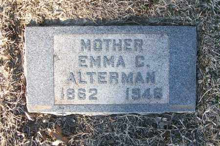ALTERMAN, EMMA C - Reno County, Kansas | EMMA C ALTERMAN - Kansas Gravestone Photos