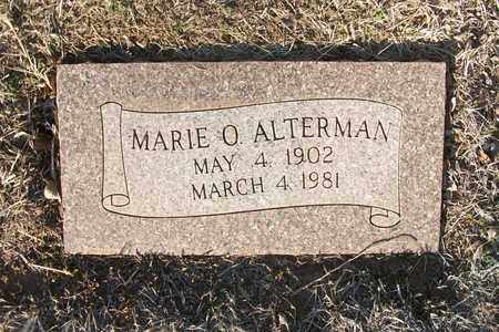 ALTERMAN, MARIE O - Reno County, Kansas | MARIE O ALTERMAN - Kansas Gravestone Photos