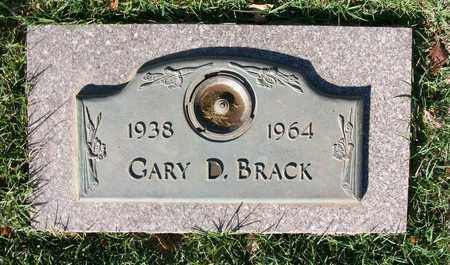 BRACK, GARY D - Reno County, Kansas | GARY D BRACK - Kansas Gravestone Photos