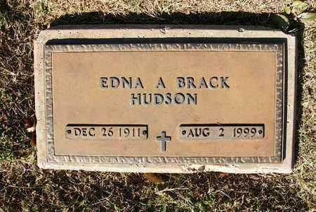 THOMASON BRACK  , EDNA A - Reno County, Kansas | EDNA A THOMASON BRACK   - Kansas Gravestone Photos