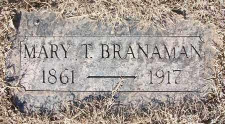 BRANAMAN, MARY TRYPHENIA - Reno County, Kansas | MARY TRYPHENIA BRANAMAN - Kansas Gravestone Photos
