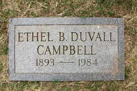CAMPBELL, ETHEL B - Reno County, Kansas | ETHEL B CAMPBELL - Kansas Gravestone Photos