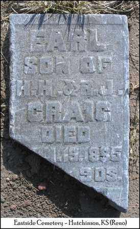 CRAIG, EARL - Reno County, Kansas | EARL CRAIG - Kansas Gravestone Photos