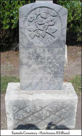 CRAIG, HENRY HARRISON - Reno County, Kansas | HENRY HARRISON CRAIG - Kansas Gravestone Photos