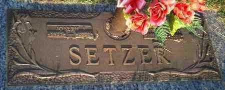 RICKARD SETZER, MARY MAXINE - Reno County, Kansas   MARY MAXINE RICKARD SETZER - Kansas Gravestone Photos