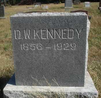 KENNEDY, D W - Reno County, Kansas | D W KENNEDY - Kansas Gravestone Photos