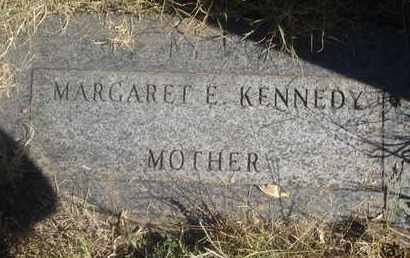 KENNEDY, MARGARET E - Reno County, Kansas | MARGARET E KENNEDY - Kansas Gravestone Photos