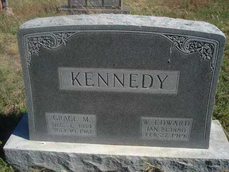 KENNEDY, W EDWARD - Reno County, Kansas | W EDWARD KENNEDY - Kansas Gravestone Photos