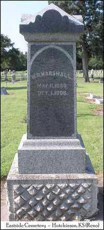 MARSHALL, W  R - Reno County, Kansas | W  R MARSHALL - Kansas Gravestone Photos