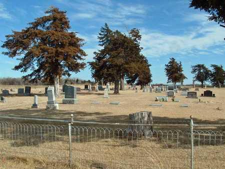 *OVERVIEW, HAZEN CEMETERY - Reno County, Kansas   HAZEN CEMETERY *OVERVIEW - Kansas Gravestone Photos