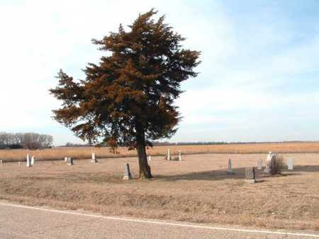 *OVERVIEW, OLD LANGDON CEMETERY - Reno County, Kansas | OLD LANGDON CEMETERY *OVERVIEW - Kansas Gravestone Photos