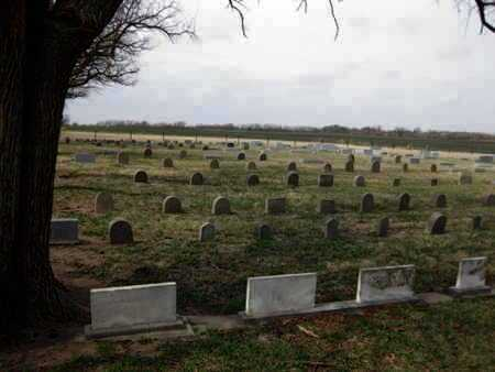 *OVERVIEW, WEST CENTER CEMETERY - Reno County, Kansas   WEST CENTER CEMETERY *OVERVIEW - Kansas Gravestone Photos