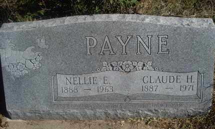 PAYNE, CLAUDE H - Reno County, Kansas | CLAUDE H PAYNE - Kansas Gravestone Photos