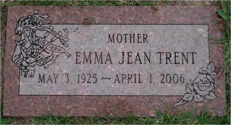 TRENT, EMMA JEAN - Reno County, Kansas   EMMA JEAN TRENT - Kansas Gravestone Photos