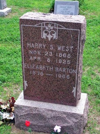WEST, HARRY S - Reno County, Kansas | HARRY S WEST - Kansas Gravestone Photos
