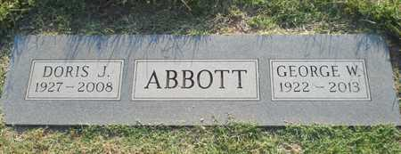 ABBOTT, GEORGE WALKER - Reno County, Kansas | GEORGE WALKER ABBOTT - Kansas Gravestone Photos