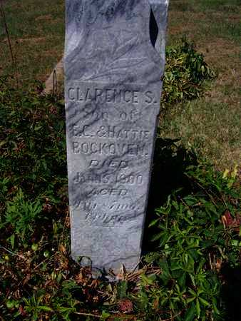 BOCKOVEN, CLARENCE S - Republic County, Kansas | CLARENCE S BOCKOVEN - Kansas Gravestone Photos