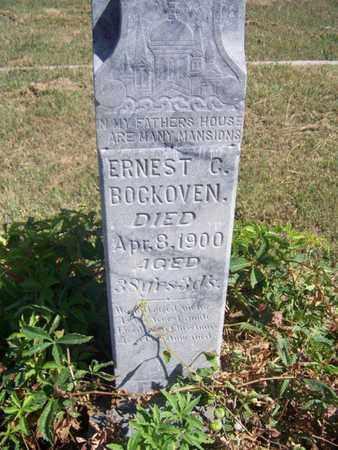 BOCKOVEN, ERNEST C - Republic County, Kansas | ERNEST C BOCKOVEN - Kansas Gravestone Photos