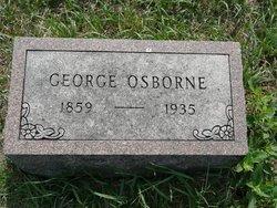 OSBORNE, GEORGE - Republic County, Kansas | GEORGE OSBORNE - Kansas Gravestone Photos