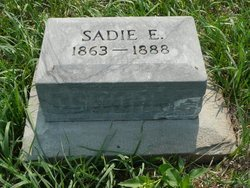OSBORNE, SADIE E - Republic County, Kansas | SADIE E OSBORNE - Kansas Gravestone Photos