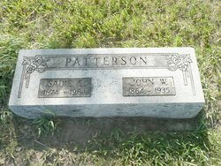 PATTERSON, SADIE ELVIRA - Republic County, Kansas | SADIE ELVIRA PATTERSON - Kansas Gravestone Photos