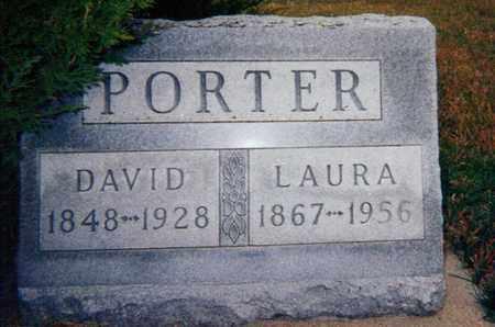 BURCH PORTER, LAURA - Republic County, Kansas | LAURA BURCH PORTER - Kansas Gravestone Photos