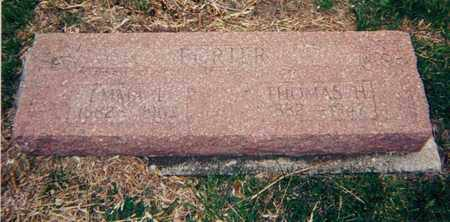 PORTER, THOMAS HENRY - Republic County, Kansas | THOMAS HENRY PORTER - Kansas Gravestone Photos