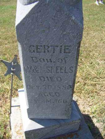 SKEELS, GERTIE - Republic County, Kansas   GERTIE SKEELS - Kansas Gravestone Photos