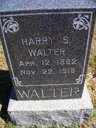 WALTER, HARRY S - Republic County, Kansas   HARRY S WALTER - Kansas Gravestone Photos