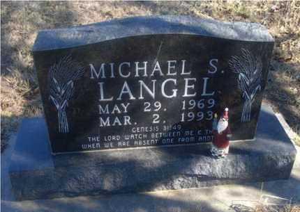 LANGEL, MICHAEL S - Rice County, Kansas | MICHAEL S LANGEL - Kansas Gravestone Photos