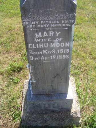 MOON, MARY - Riley County, Kansas | MARY MOON - Kansas Gravestone Photos