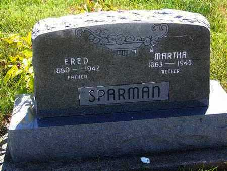 SPARMAN, FRED - Riley County, Kansas | FRED SPARMAN - Kansas Gravestone Photos