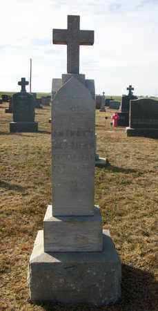 HERRMAN   CHECK, ANTHONY    CHECK - Rush County, Kansas | ANTHONY    CHECK HERRMAN   CHECK - Kansas Gravestone Photos