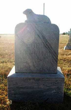 HERRMAN, FLORINA - Rush County, Kansas   FLORINA HERRMAN - Kansas Gravestone Photos