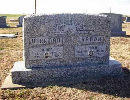 HERRMAN, JO ANN - Rush County, Kansas   JO ANN HERRMAN - Kansas Gravestone Photos