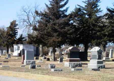 * OVERVIEW, LA CROSSE CEMETERY - Rush County, Kansas   LA CROSSE CEMETERY * OVERVIEW - Kansas Gravestone Photos