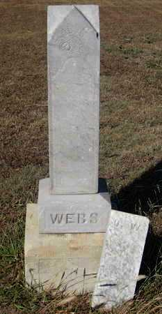 WEBS, ULRIKE - Rush County, Kansas | ULRIKE WEBS - Kansas Gravestone Photos