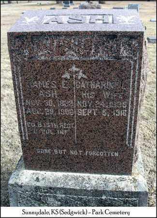 ASH, CATHERINE L - Sedgwick County, Kansas | CATHERINE L ASH - Kansas Gravestone Photos