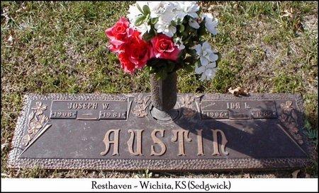 AUSTIN, JOSEPH W - Sedgwick County, Kansas | JOSEPH W AUSTIN - Kansas Gravestone Photos