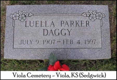 THRIFT DAGGY, LUELLA - Sedgwick County, Kansas | LUELLA THRIFT DAGGY - Kansas Gravestone Photos