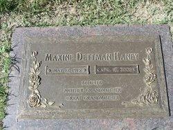 DETTMAN, MAXINE N - Sedgwick County, Kansas | MAXINE N DETTMAN - Kansas Gravestone Photos