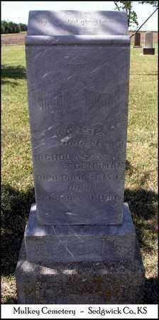 OSBORN GENSMAN, KANSIE - Sedgwick County, Kansas | KANSIE OSBORN GENSMAN - Kansas Gravestone Photos